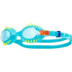 TYR Swimple Spikes Svømmebriller Børn turkis